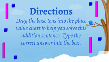 Interactive 2 digit addition (Regrouping)