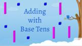 Google Classroom- Math Centers: Interactive 2 digit addition (Regrouping)