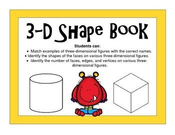 Interactive 3-D Shape Book