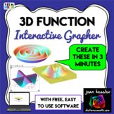 Graphing - Interactive Easy 3D Grapher Fun Explorations