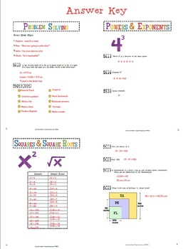 Interactive 7th Grade Level Math Notebook {aligned with CC}