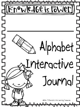 Interactive ABC Alphabet Notebook