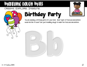 Interactive ABC Book of Modeling Dough Mats