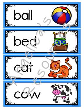 Alphabet: Interactive Alphabet Notebook