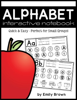 Interactive ABC Notebook - Quick & Easy