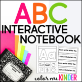 Interactive Beginning Sounds Notebook for Pre- K and K No Prep