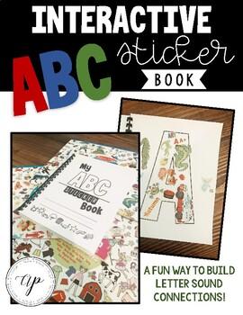Interactive ABC Sticker Book