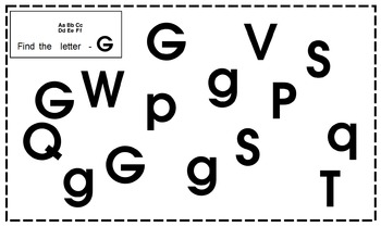 Interactive ABCs - 4 pages/ letter