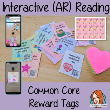 Interactive (AR) Reading Common Core Reward Tags