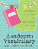 Interactive Notebook for Academic Vocabulary for K-4th