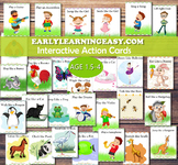 Interactive Action Cards