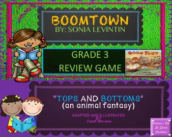 Interactive Activboard Smart-board Practice Boomtown & Tops and Bottoms BUNDLE