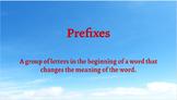 Google Classroom- Word Work:Interactive Activities Prefixe