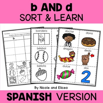 b and d Reversal - Spanish Sort