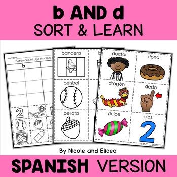 Spanish b and d Reversal Sort