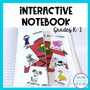 Spanish Interactive Activities for Grades K-1 {Growing Bundle}
