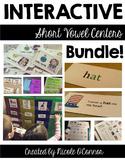 Interactive Short Vowel Centers Bundle!