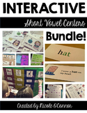 Interactive Short Vowel Centers Bundle!