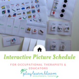 Interactive Activity Visual Schedule for Occupational Ther