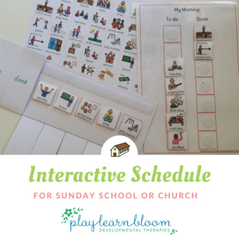 Interactive Activity Schedule for Sunday School or Church