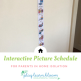 Interactive Activity Visual Schedule for Home Isolation