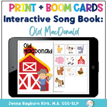 Interactive Song Book: Old MacDonald