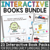 Interactive Adapted Books Bundle for Early Language Development and Autism