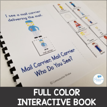 Interactive Adapted Books - Community Helpers - Dollar Deal!
