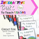 Interactive Adaptive Color Books for Special Education- 11 BOOK BUNDLE