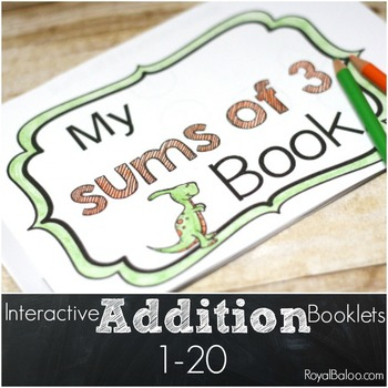 Interactive Addition Booklets 1-20
