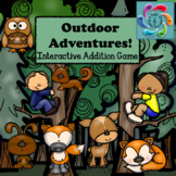 Interactive Math Game Addition -Outdoor Adventures