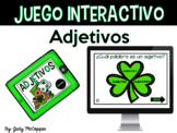 Interactive Adjective Game in Spanish