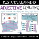 Interactive Adjectives Activities | Grammar | Distance Learning |