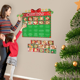 Interactive Advent Calendar Wall Play Set