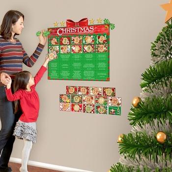 Interactive Advent Calendar Wall Play Set