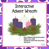 Interactive Advent Wreath