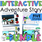 Big Bundle of Interactive Adventure Story Books for Preschool Speech Therapy