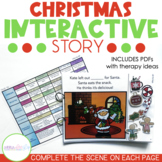 Interactive Adventure Story for Preschool Speech Therapy: Christmas