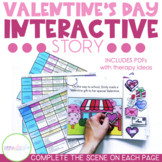 Valentine's Day Story for Preschool Speech and Language Therapy