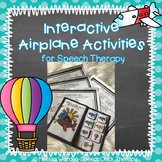 Interactive Airplane Activity Set for Speech Therapy