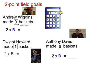 Interactive Algebra with Basketball