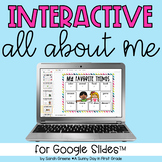 All About Me Activity for Google Slides™
