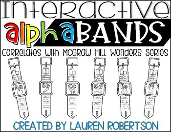 Interactive Alphabands- McGraw Hill Wonders