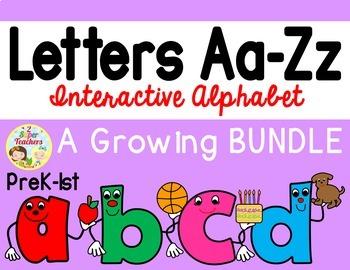 Interactive Alphabet {Aa-Zz}