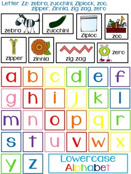 Interactive Alphabet Activities