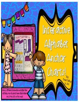 Interactive Alphabet Anchor Charts