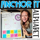 Interactive Alphabet Anchor Charts for Kindergarten