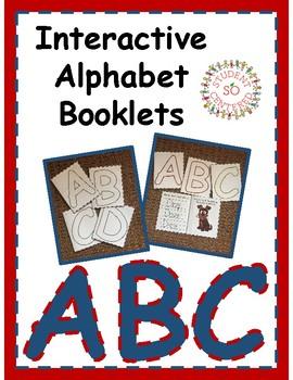 Interactive Alphabet Booklets