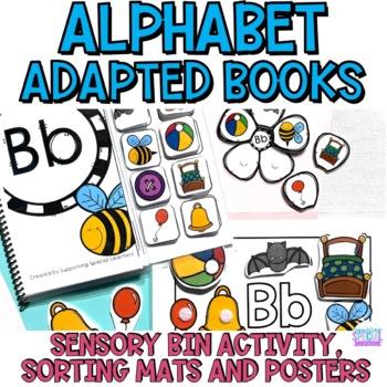 #SPRINGSAVINGS Interactive Alphabet Books