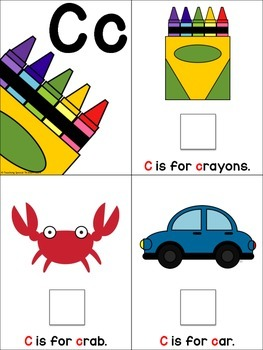 Interactive Alphabet Books: Adapted Books to Practice Letters